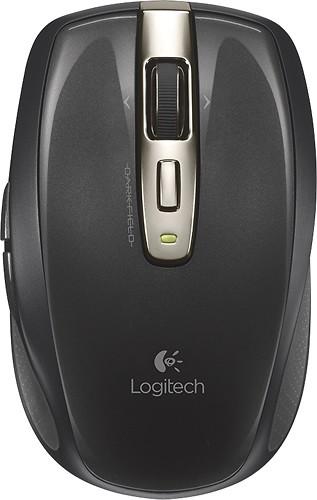Logitech - Anywhere Mouse MX Wireless Laser Mouse - Black for $27.99 + FS ($35+) (Bestbuy)