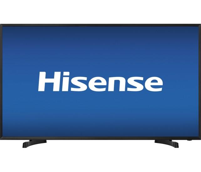 """Hisense - 40"""" Class (39.5"""" Diag.) - LED - 1080p - HDTV - Black for $179.99 + FS (Bestbuy)"""
