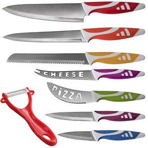 8-Piece OxGord Professional Knife Set $9.99 at eBay