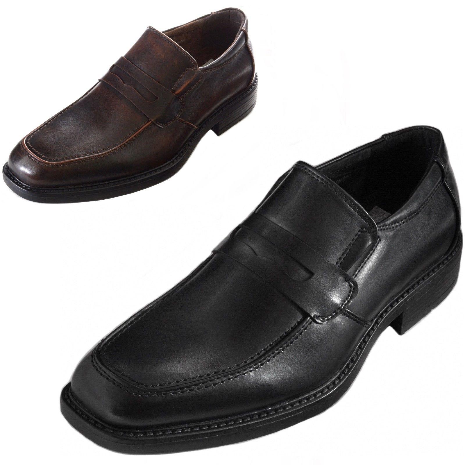 Alpine Swiss Men's Penny Dress Shoes $20
