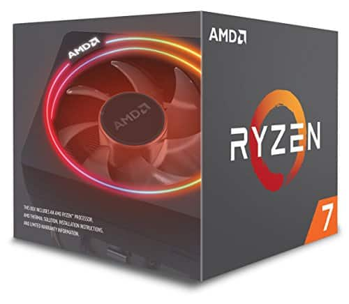 AMD Ryzen 7 2700X Processor with Wraith Prism LED Cooler - YD270XBGAFBOX [Ryzen 7 2700x $199