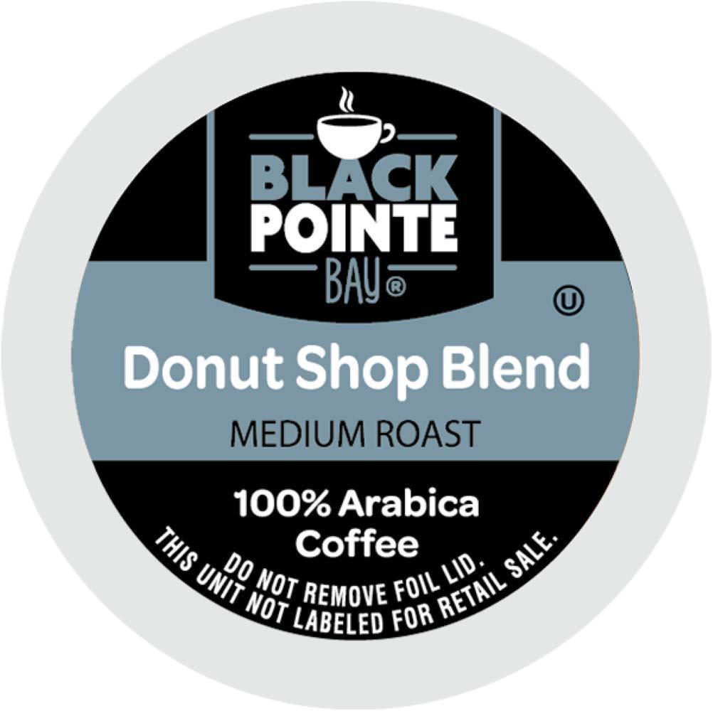 Black Pointe Bay Coffee - Donut Shop 80 Ct $12.09 S&S + 35% Coupon - Amazon Prime
