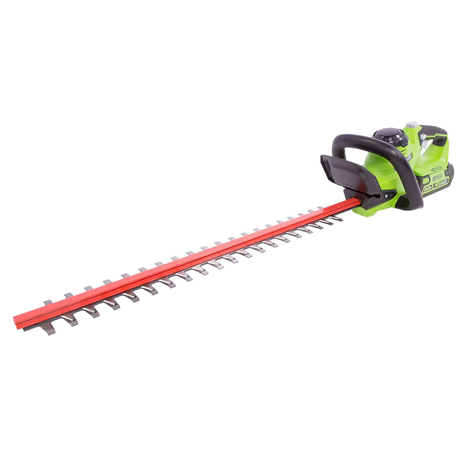 [Today Only] Greenworks 24-Inch 40V Cordless Hedge Trimmer, 2Ah Battery for $119.96 + Free Shippinh $119.94