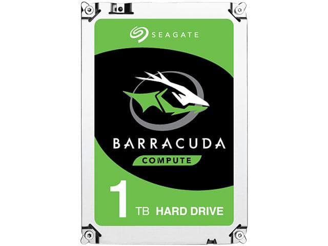 "Seagate 1TB BarraCuda 2.5"" - $44.99 on Newegg with promo code"