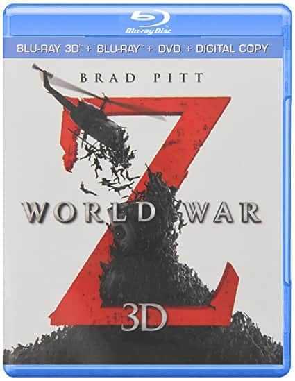World War Z or G.I. Joe: Retaliation (3D Blu-ray + Blu-ray + DVD + Digital HD) - $9.99 at Amazon