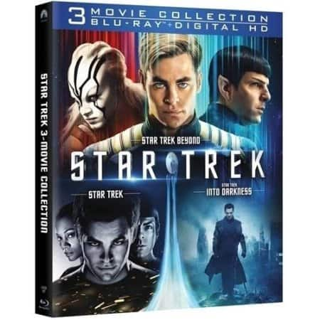 Star Trek 3-Movie Collection (Blu-ray + Digital HD + InstaWatch) - $19.96 at Walmart - YMMV