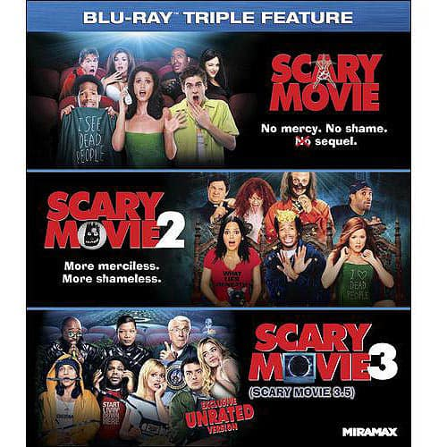 Scary Movie 1-3 (Blu-ray + InstaWatch) - $9.96 at Walmart
