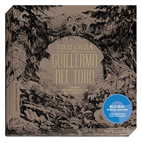 Prime Members - Trilogía de Guillermo del Toro (Criterion Collection Blu-ray) - $36.15 + tax - Cronos / The Devil's Backbone / Pan's Labyrinth