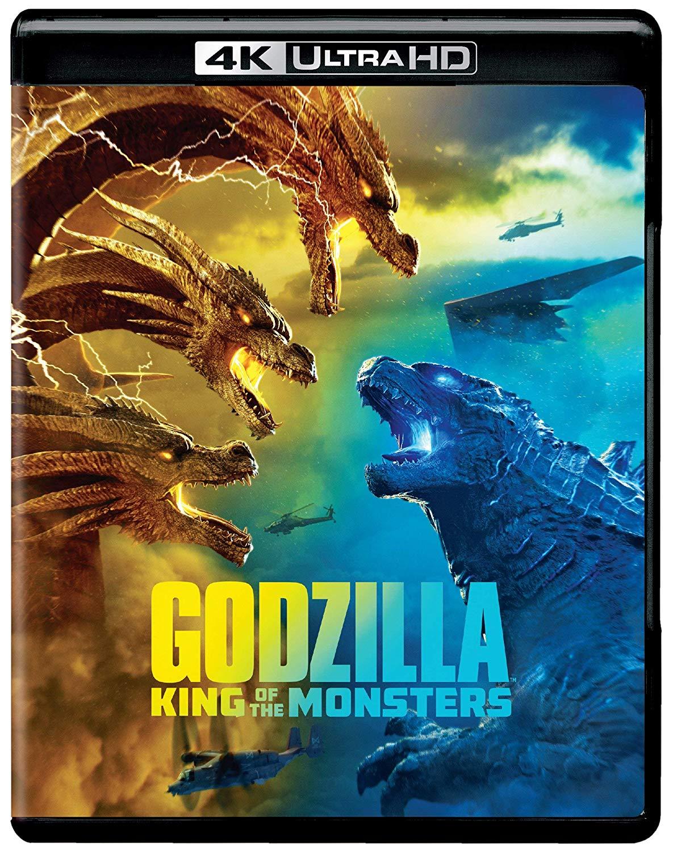 Godzilla: King of the Monsters (4K UHD + Blu-ray + Digital) $9.96
