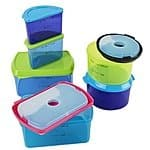 Fit & Fresh Kids' Reusable Lunch Container Kit with Ice Packs, 14-Piece Set, BPA-Free $10.99 Shipped Free w/Prime