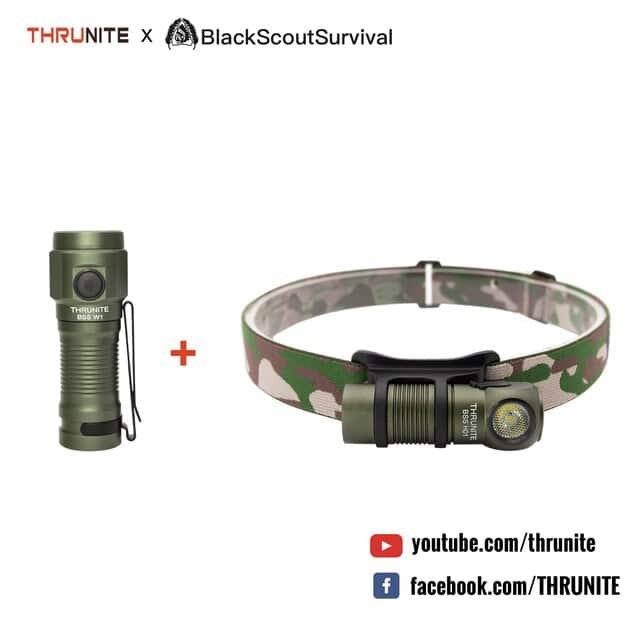 Thrunite 16340 LED flashlight and Headlamp combo - $30 + $6 shipping $36