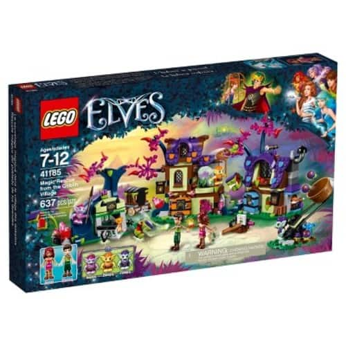 2 LEGO Elves Sets: Magic Rescue from the Goblin Village 41185 $37.59, Aira's Airship 41184 $24.69 Free Ship
