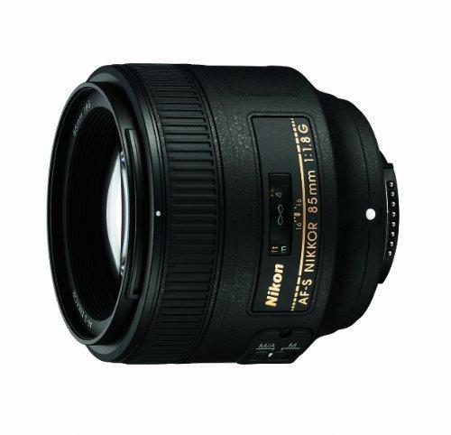 Nikon AF-S NIKKOR 85mm f/1.8G Lens - Black $379.95