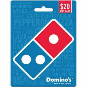 $20 Domino's Pizza Gift Card for $18 at Best Buy
