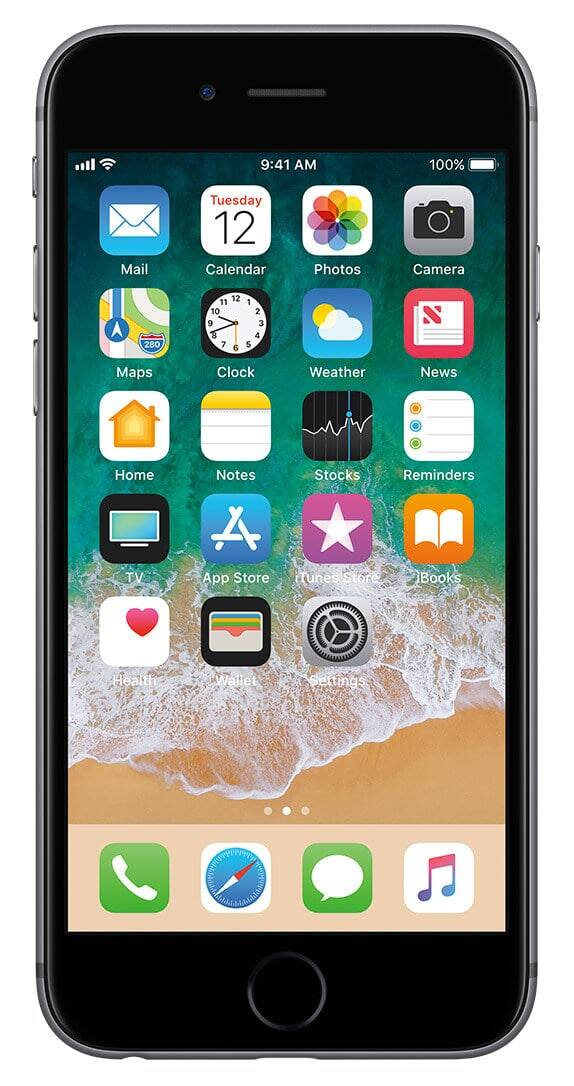 Cricket Space Gray iPhone 6s 32GB with port in and 1 mo. of service $130 $129.99