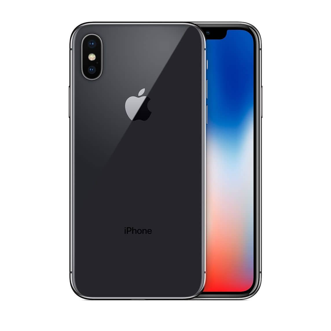 Visible iPhone X 64GB Pre-Owned Very Good + $200 Prepaid Mastercard + 2 mo services (Port in required)