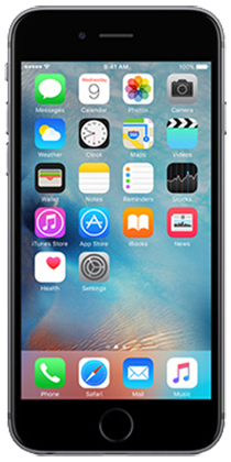 Tracfone iPhone 6s Space Grey 32gb (Reconditioned) + 1 mo. unlimited talk/text/1gb data $65