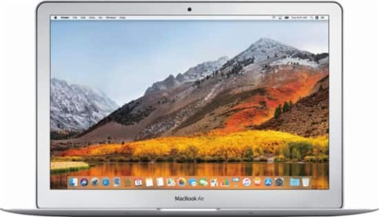 "Apple - MacBook Air® - 13.3"" Display - Intel Core i5 - 8GB Memory - 128GB Flash Storage (Latest Model) - Silver $780"