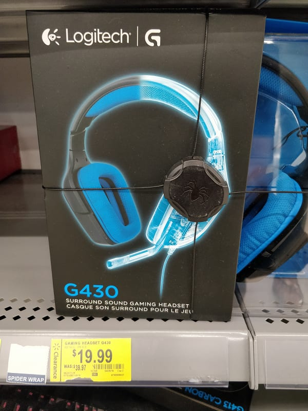 Logitech G430 Gaming Headset $19.99 Walmart In-Store Clearance YMMV
