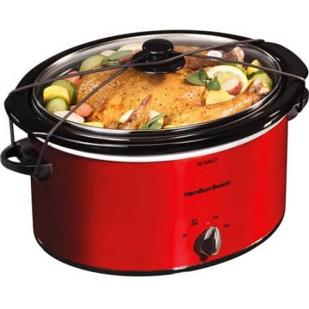 Hamilton Beach 5-Quart Portable Slow Cooker - $13.54 - Walmart.com