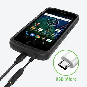 Moto G5 plus battery case amazon, $20