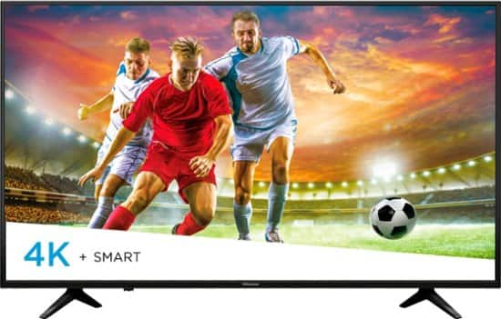 "Hisense - 55"" Class - LED - H6 Series - 2160p - Smart - 4K UHD TV with HDR Best Buy $243"