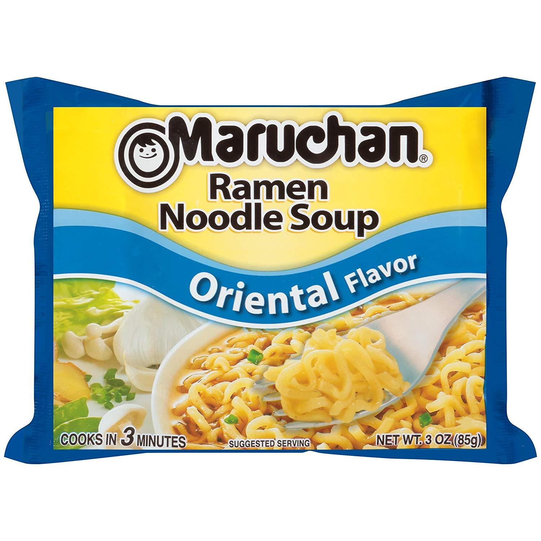 Maruchan Flavor Ramen Noodles, Oriental, 3 Ounce (Pack of 24) amazon S&S $4.31