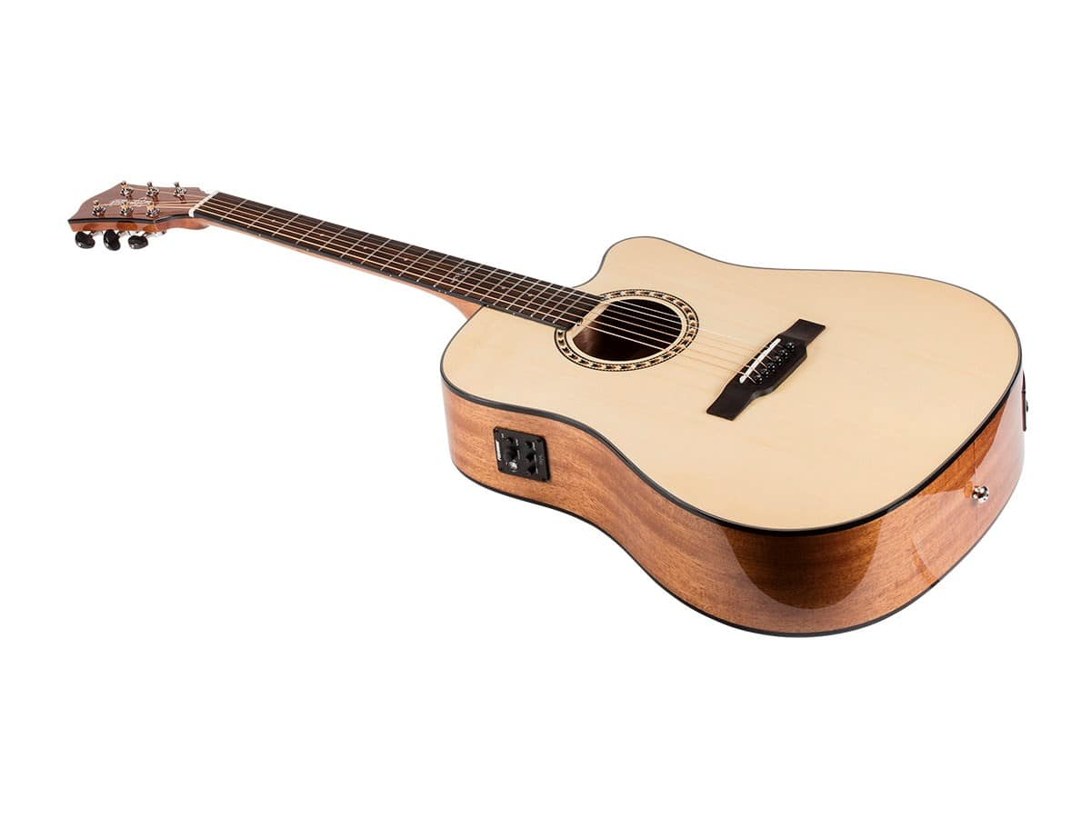 Monoprice: Idyllwild Spruce Solid Top Acoustic Electric Guitar with Fishman Pickup Tuner and Gig Bag - $127.99 AC with FREE Shipping