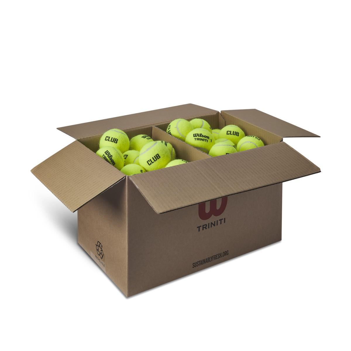 Wilson Triniti Club Tennis Ball Case of 72 $53.33 (min 2 case) free shipping