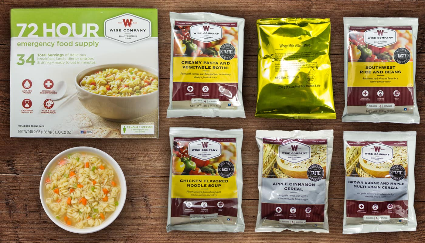 50% off 72 Hours Emergency Food Kit with FREE Survival Guide and FREE Shipping $19.99