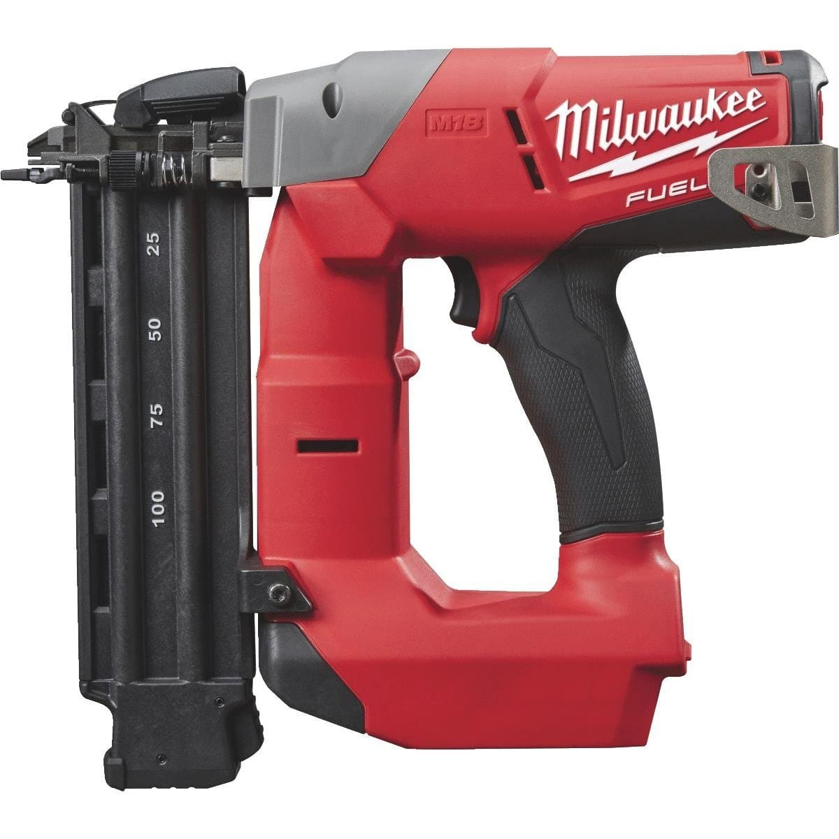 M18 FUEL 18-Volt Lithium-Ion Brushless Cordless 18-Gauge Brad Nailer (Tool Only) - Home Depot - $179 (Orig. $249)