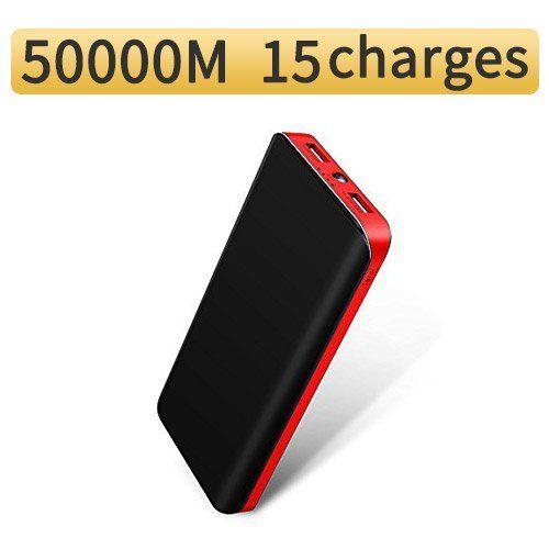 JEMMA 50000M Power Bank Ultra Slim External Battery with 2 USB $14.99