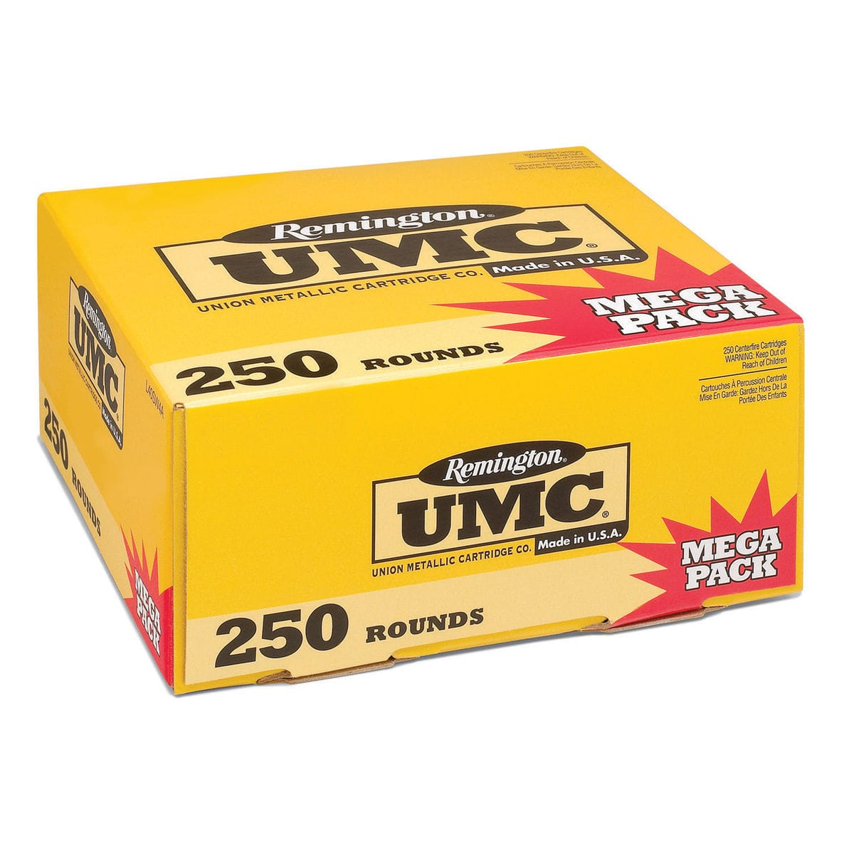 Remington UMC 9mm Ammo as cheap as $56.99-$12.50 rebate=44.49 for 250 rounds B&M only - Sold out online