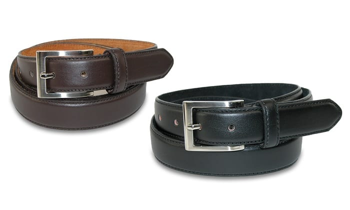 BOGO Men's Genuine Leather Dress Belts $10 shipped