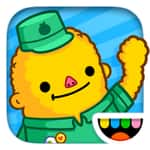 Top paid iOS app (Toca Life: Town) free today