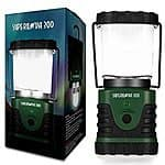 Supernova 300 Lumens Ultra Bright LED Camping and Emergency Lantern @ $21.93 on Amazon. FS w/ Prime.