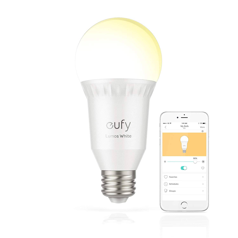 Eufy Lumos A19 Smart Bulb @ Amazon  $11.69