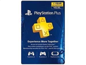 PlayStation Plus 1-Year Membership $39.99