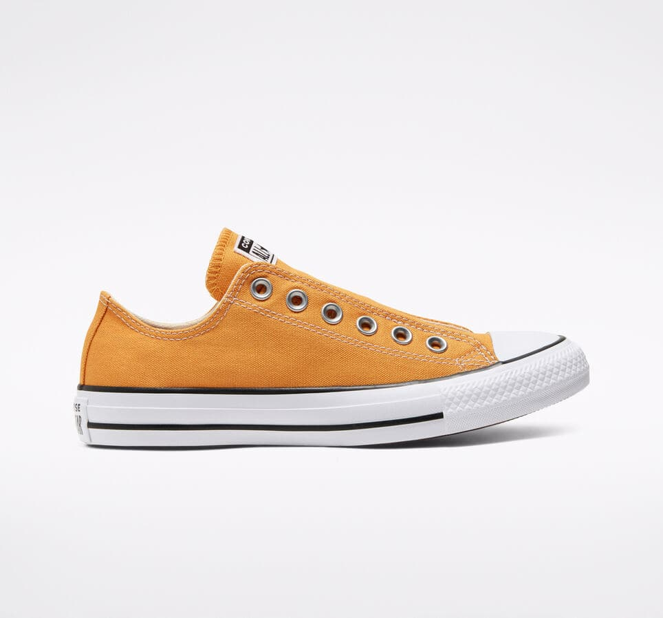 Mens Converse Chuck Taylor Low Top Slip Shoes (Sunflower Gold) $23.98