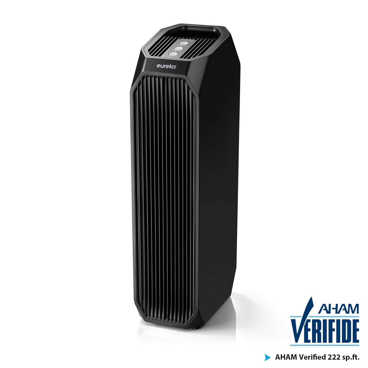 Eureka Instant Clear 26' NEA120 Purifier, 3-in-1 True HEPA Air Cleaner with Carbon Activated Filter and UV LED $54.99