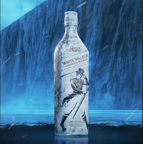 WHITE WALKER BY JOHNNIE WALKER (limited-edition Scotch Whisky - 750ML / $45 + tax/shipping)