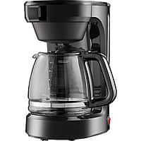 Best Buy Deal: 12-Cup Coffee Maker (Black) $7.50 + Free In-Store Pickup