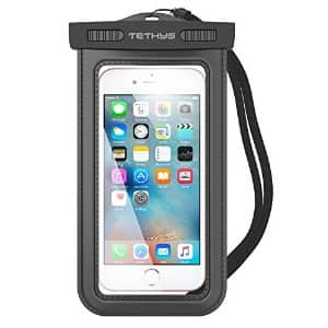 Waterproof bag for Large Smartphone free amazon $0 with prime