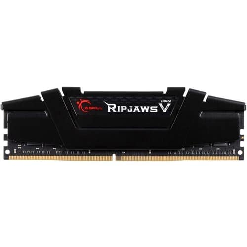 G.SKILL Ripjaws V Series 16GB 288-Pin DDR4 3200 (PC4 25600) Desktop Memory (F4-3200C16S-16GVK0) - BLACK - $56