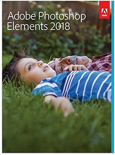 Amazon Prime Day: Adobe Photoshop Elements 2018 - No Subscription Required [Standard, 64-bit PC/Mac Box] $49.99