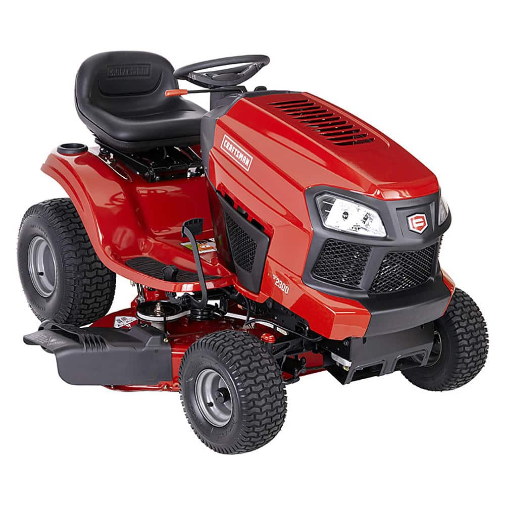 Craftsman 2 Riding Mower : Craftsman quot briggs stratton riding lawn mower