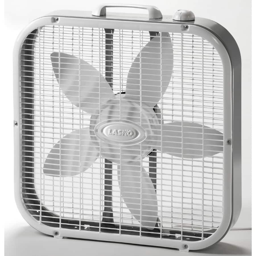 "Lasko 20"" Box fan (3733) $12.50 at many CVS stores"