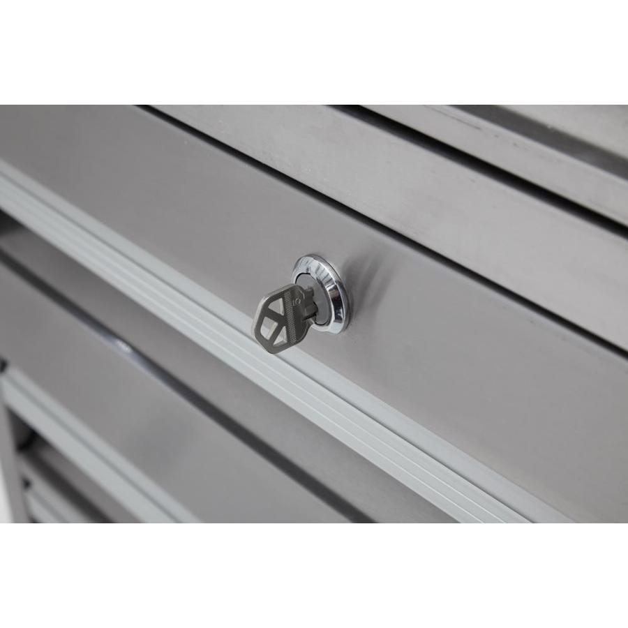 Magnificent Kobalt 3000 41 In W X 41 In H 11 Drawer Stainless Steel Theyellowbook Wood Chair Design Ideas Theyellowbookinfo