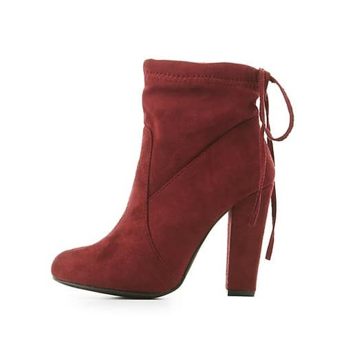 Tie-Back Sock Booties $9.99