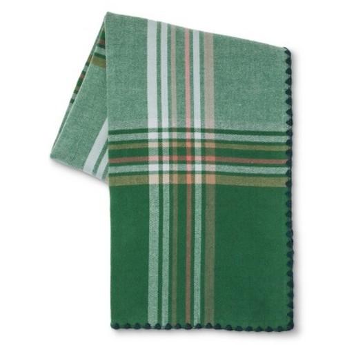 """Green Melanie Woven Plaid Throw (50""""x60"""") - Beekman 1802 FarmHouse™ $14.98 Clearance"""